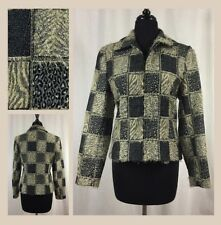 Women's Giancarlo Ferrari Patchwork Jacket Size 6