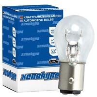 4x P21/5W XENOHYPE Classic BAY15d 12 V 21/5 Watt Kugellampe