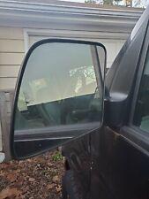 92-06 FORD VAN E150 E250 E350 DRIVER/LEFT SIDE MANUAL DOOR MIRROR OEM