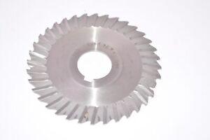 F&D 4'' x 1/16'' x 1'' HSS Side Milling Cutter