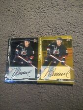 Nhl Coyotes (2) Jyrki Lumme Auto Gold And Silver 2000-01 Bap Signature Series