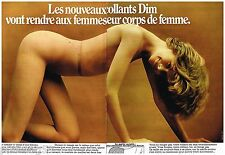 Publicité Advertising 1973 (2 pages) Les Bas et collants DIM