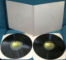 2 LP BEATLES (WHITE ALBUM) UK APPLE 1968 GATEFOLD + INSERT-STEREO EX