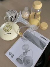 Medela swing Single Electric Breast Pump, Calma Bottle, Pads, Bags and Shells