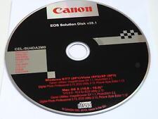 Canon Appareil photo numérique Solution disque v28.1 Photo Professional EOS Utility 100D