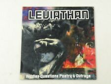 LEVIATHAN - RIDDLES QUESTIONS POETRY & OUTRAGA - CD CARDBOARD PROMO VG+/VG