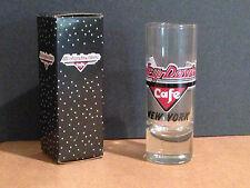 HARLEY DAVIDSON CAFE Shot glass - NIB - New York