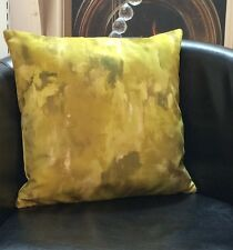 Green And Yellow Colours, Velour Feel Evans Lichfield Cushion Cover