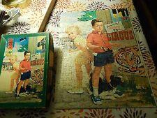 """'50s Boy & Girl"" Warren Built Rite Junior Puzzles (150+ Pcs) Indiana Made Ltd"