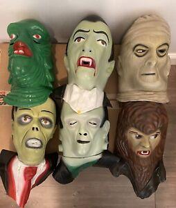 Loot Crate 6 Universal Monsters Full Mask Lot NECA Creature Dracula Rare REMCO