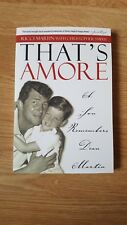 Ricci Martin Biography - That's Amore - A Son Remembers Dean Martin - Brand New