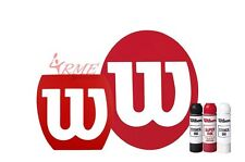 Wilson Tennis, Squash, Badminton Stencil and Wilson Ink Pack