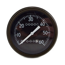 WILLYS MB EARLY SPEEDOMETER CORRECT FONTS, LUMINOUS NEEDLE NOT SLAT GRILL JL02
