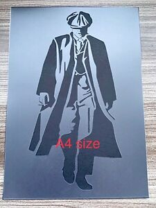 Peaky Blinders Stencil, Bar Sign ,Barrel Pub Wall Alcohol Tommy Shelby, Whiskey