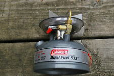 COLEMAN #533 SINGLE BURNER CAMPING STOVE - NEVER FIRED
