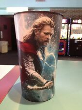 Thor The Dark World 44oz Plastic Movie Theater Cup Brand New