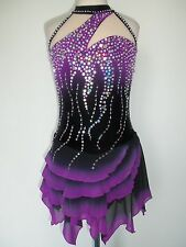 NEW FIGURE ICE SKATING BATON TWIRLING DRESS COSTUME ADULT XXL
