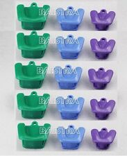 GER ! 5 XSilicone Dental Autoclavable Impression Tray Mouth Prop (3pc/ kit)