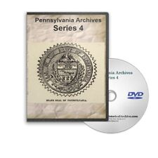 Pennsylvania Archives Series 4 Complete - 12 Volumes (1681 - 1902) DVD - C767