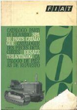 FIAT CRAWLER TRACTOR 70C PARTS MANUAL