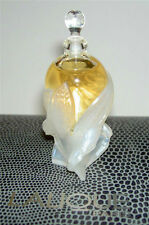 Authentic LALIQUE France 2002 Miniature Perfume Bottle Nude LES ELFES Brand New