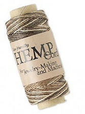 100ft Roll Mixed Brown Natural Hemp Cord .5MM
