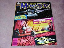 FAMOUS MONSTERS # 161, Star Trek The Motion Picture, The Black Hole - nice copy!