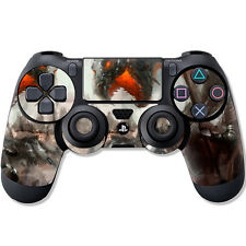 """Sony ps4 Controller skin """"Dragon attacs"""" Design Film de protection film playstation"""