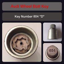 "Genuine Audi Locking Wheel Bolt / Nut Key 804 ""D"" 17 Hex"