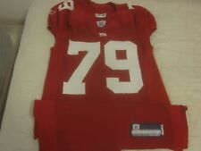 2007 NFL Football New York Giants Game Used Jersey #79 Guy Whimper
