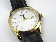 Gent's Rotary Date Leather Wrist Watch - GS03438/06