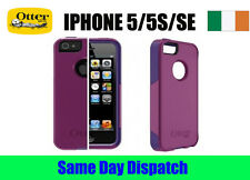 Commuter Otterbox PURPLE cases for Iphone 5/5S/SE