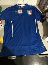 Puma Italy Soccer Jersey Adult XL Blue Italia Futbol Italy NWT
