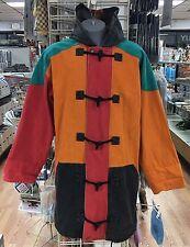 Corniche Ranch Style Color Block Vintage Jacket Hooded Coat Hip Hop Size XXL