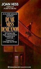 Dear Miss Demeanor (Claire Malloy Mysteries, No. 3) Paperback XX 248