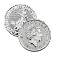 2021 Silver Great Britain 1 oz Silver Britannia Coin .999 Fine