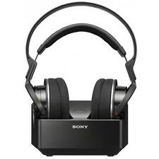 Sony MDR-RF855 RF Frequency Comfortable Wireless Over Ear Headphones Black - New