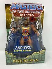 "Mattel MOTU Masters of the Universe Classics KING HE-MAN 6"" Figure w/ Box (2013)"