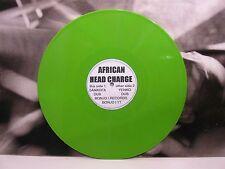 "AFRICAN HEAD CHARGE - SANKOFA DUB / YENKO DUB GREEN VINYL 12"" PROMO BONJO I REC"
