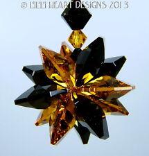 m/w Swarovski Crystal SunCatcher HAPPY HALLOWEEN TREAT Star Lilli Heart Designs