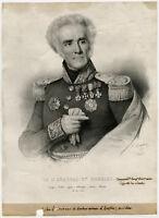 Antique Print-ANTONIE SIMON DURRIEU-GENERAL-MANUSCRIPT-Maurin-1837