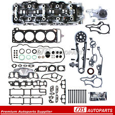 For 85-95 2.4 TOYOTA PICKUP CYLINDER HEAD TIMING CHAIN BOLTS HEAD GASKET 22RE