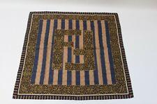Fendi Vintage Handkerchief Scarf Bandanna Chain Pattern Monogram FF Logo