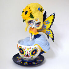 Jasmine Becket-Griffith JBG SAVORY SUNFLOWER Teacup Fairy Figurine NEW