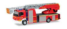 """Herpa  093729  Mercedes-Benz Atego Rosenbauer Drehleiter """"Feuerwehr Gelsen. 1:87"""