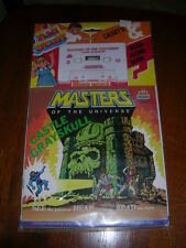KID STUFF MOTU MASTERS UNIVERSE CASSETTE & READ ALONG BOOK CASTLE GRAYSKULL MINT
