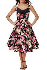 Knee Length Plus Size Formal Floral Dresses for Women