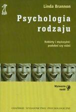 Psychologia rodzaju, Brannon, Linda, Used; Acceptable Book