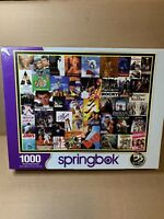 """Springbok """"Going To The Movies"""" 1000 Piece Jigsaw Puzzle COMPLETE"""