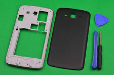For Samsung Galaxy Grand 2 G7106 G7102 Black Housing Middle Frame Battery Cover